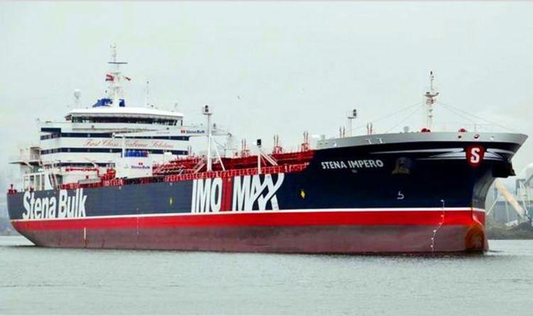 ईरान के कब्जे में ब्रिटेन का तेल टैंकर भारतीय भी फंसे