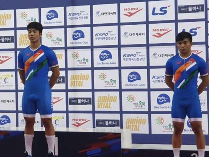एशियन ट्रैक साइक्लिंग: रोनाल्डो ने जीता गोल्ड