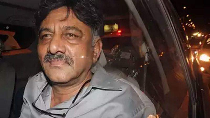 शिवकुमार को 25 अक्टूबर तक न्यायिक हिरासत