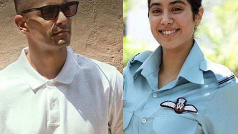 जाह्नवी और अंगद ने पूरी की 'गुंजन सक्सेना: द करगिल गर्ल' की शूटिंग