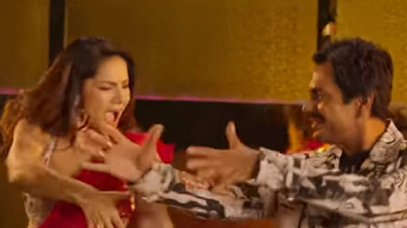 नवाजुद्दीन के साथ 'बत्तियां बुझादो' गाने पर झूमती दिखीं सनी लियोनी