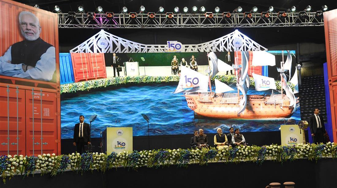 प्रधानमंत्री ने कोलकाता बंदरगाह के लिए बहुआयामी विकास परियोजनाएं शुरू कीं