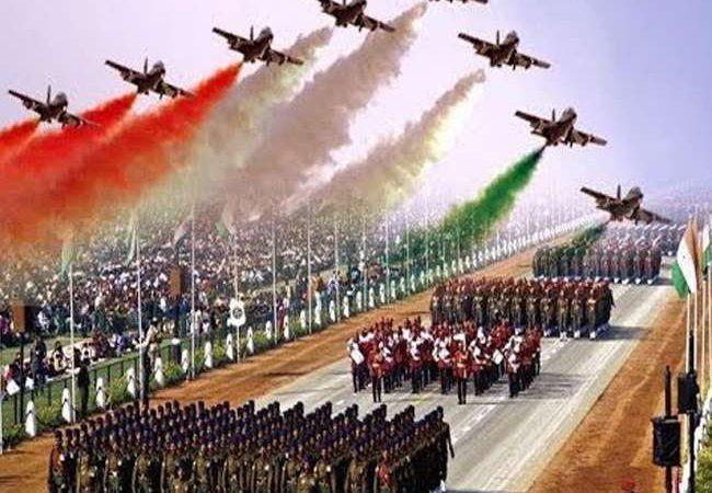 गणतंत्र दिवस परेड के लिए तैयार भारतीय नौसेना की झांकी का अनावरण किया गया