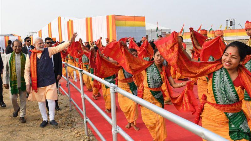 प्रधानमंत्री ने असम के कोकराझार में बोडो शांति समझौते पर हस्ताक्षर होने के समारोह में शिरकत की