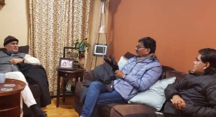 यू.एस.ए. बोस्टन पहुँचे मुख्यमंत्री भूपेश बघेल, विस् अध्यक्ष डॉ चरणदास महंत, भारतियों ने किया एयरपोर्ट पर स्वागत