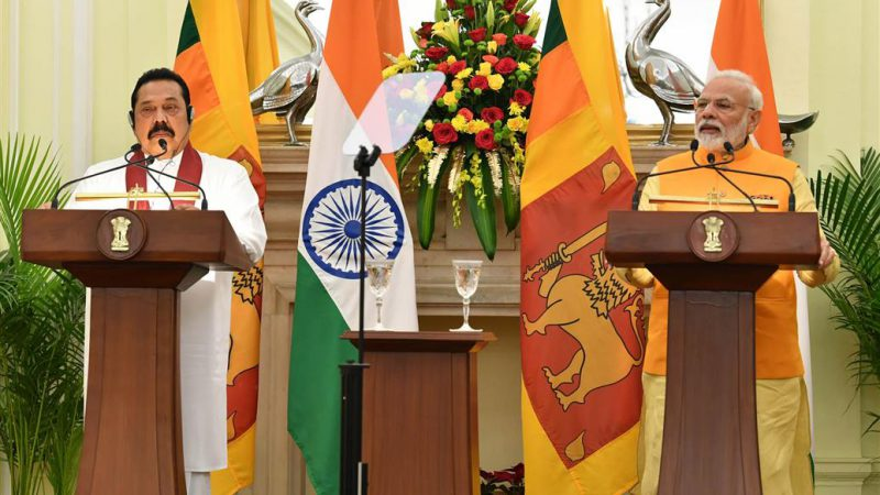 भारत-श्रीलंका के बीच तमिल हितो की भी बात हुई
