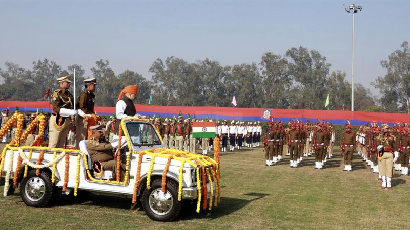 केंद्रीय गृह मंत्री ने दिल्ली पुलिस के 73वे स्थापना दिवस परेड समारोह की अध्यक्षता की