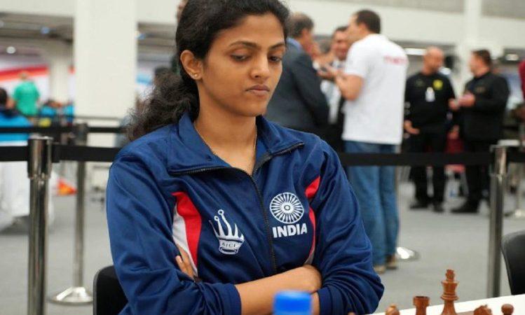 भारतीय ग्रैंडमास्टर द्रोणवल्ली हरिका का मैच रहा ड्रा