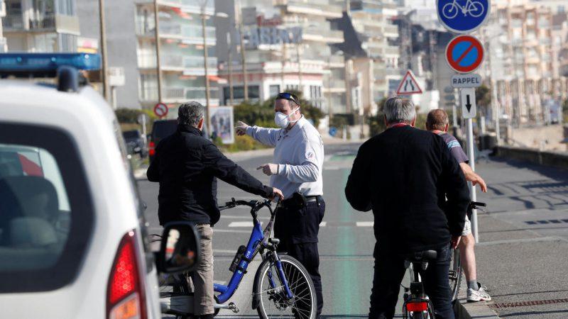 फ्रांस में जारी लॉकडाउन की समय-सीमा दो सप्ताह बढ़ाकर 15 अप्रैल की गई