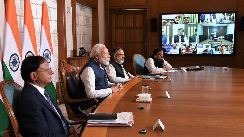 प्रधानमंत्री श्री नरेन्द्र मोदी ने उद्योग जगत के हितधारकों के साथ विचार-विमर्श किया