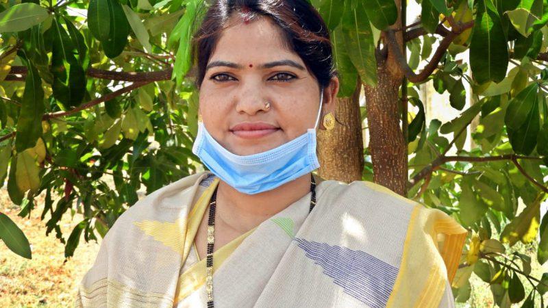 राजीव गांधी किसान न्याय योजना से ललिता देवी को पहली किश्त में मिले चौदह हजार रूपए