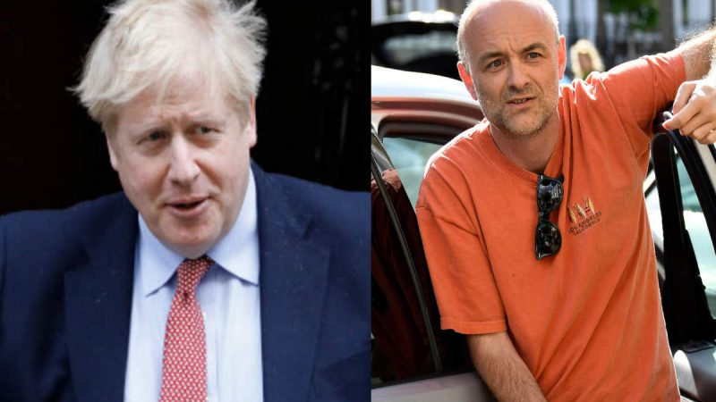 ब्रिटेन: कमिंग्स की 'मामूली' भूल, PM बोले 'केस बंद'