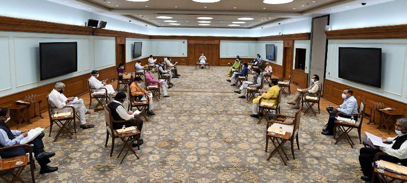 प्रधानमंत्री नरेन्द्र मोदी ने ग्रामीण भारत को ऐतिहासिक प्रोत्साहन देने के लिए कैबिनेट बैठक की अध्यक्षता की