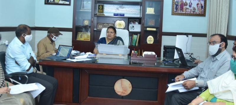 महिला बाल विकास मंत्री ने की विभागीय कामकाज की समीक्षा : मुख्यमंत्री सुपोषण अभियान का जवाबदेही के साथ पालन के निर्देश