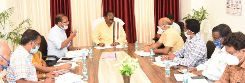 पन्द्रह अगस्त से सभी जिलों में शुरू होगा गढ़कलेवा : मंत्री अमरजीत भगत ने दिए निर्देश