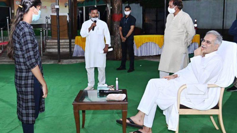 मुख्यमंत्री से विधायक यादव ने की सौजन्य मुलाकात
