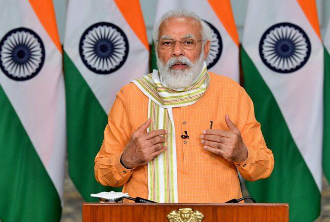 प्रधानमंत्री ने इंडिया ग्लोबल वीक के उद्घाटन सत्र को संबोधित किया