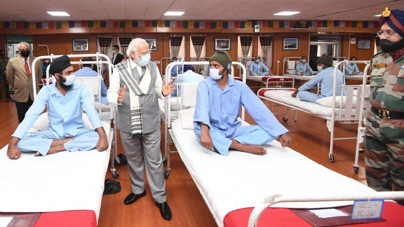 लेह के जनरल अस्पताल में उपलब्ध सुविधाओं पर भारतीय सेना का स्पष्टीकरण