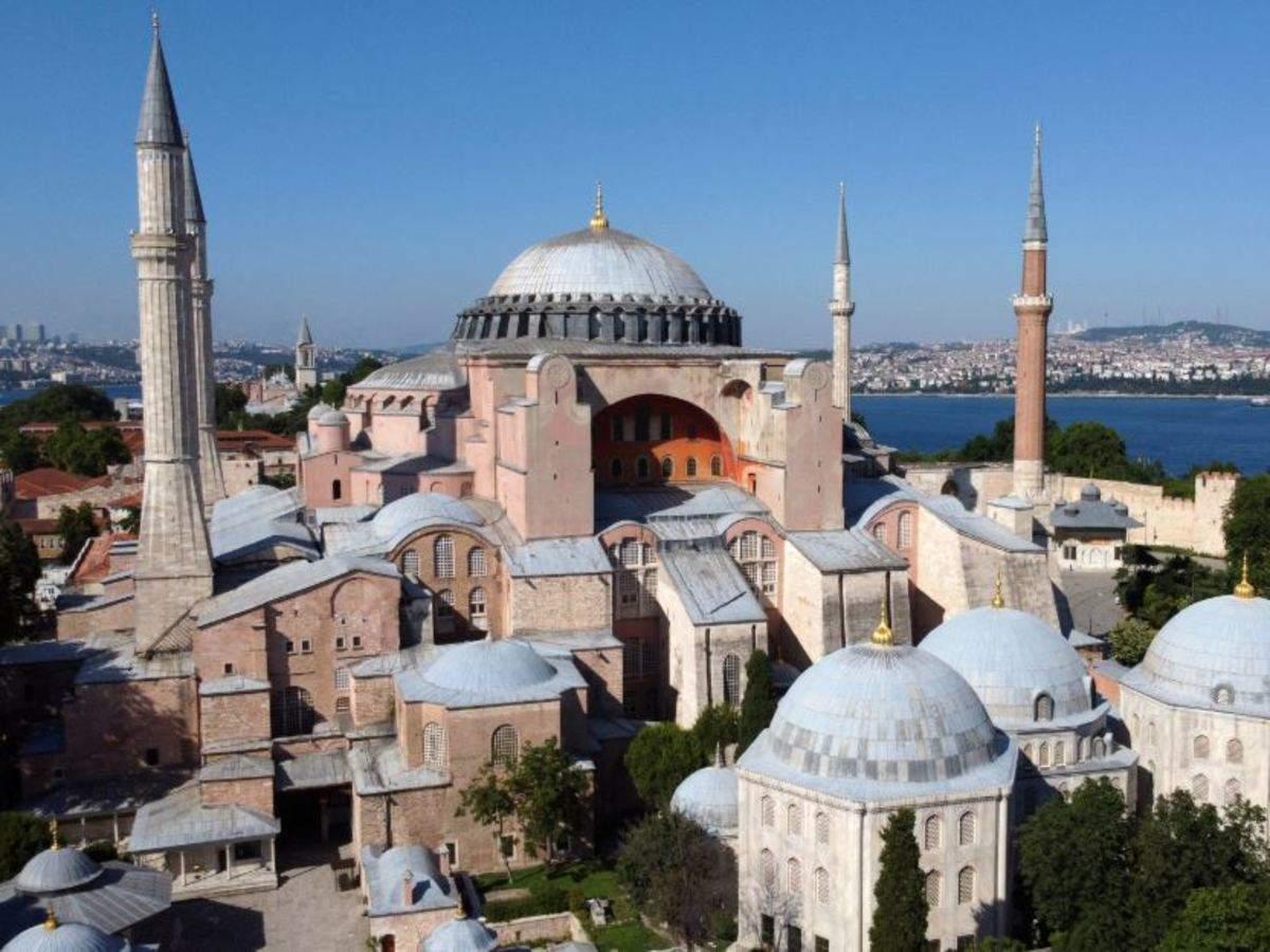 फिर मस्जिद बनेगा तुर्की का प्रसिद्ध हागिया सोफिया