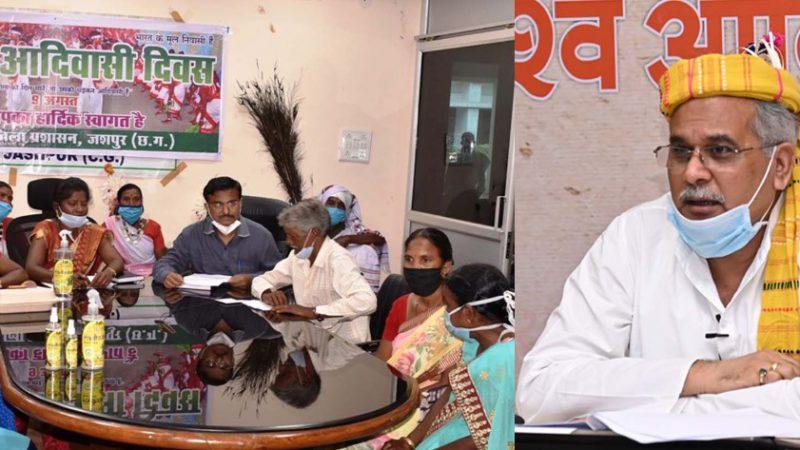 मुख्यमंत्री ने ग्रामीण महिलाओं द्वारा महुआ से सेनेटाईजर बनाने के नवाचार को सराहा : समूह की महिलाओं ने अब तक 1152 लीटर सेनेटाईजर बेचकर कमाया 1.35 लाख रूपए