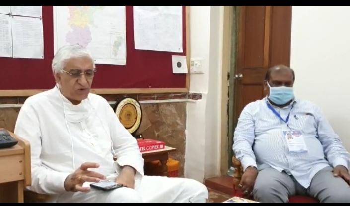 रायपुर : स्वास्थ्य मंत्री श्री सिंहदेव ने किया वायरोलॉजी लैब का उद्घाटन