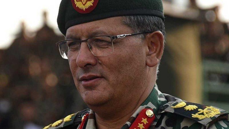 कोरोना संक्रमण की चपेट में नेपाली सेना, आर्मी चीफ भी हुए सेल्फ-आइसोलेट