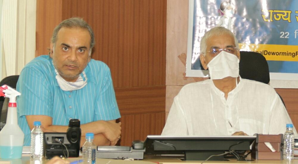 पंचायत एवं ग्रामीण विकास मंत्री श्री टी.एस. सिंहदेव ने की विभागीय योजनाओं की समीक्षा