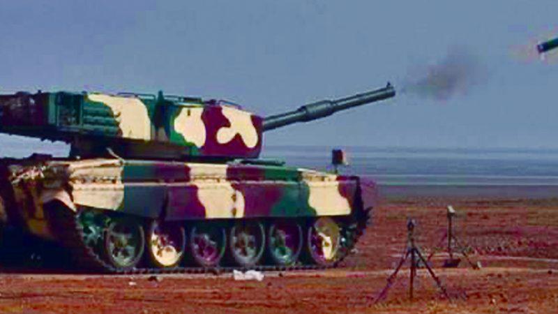 लेजर गाइडेड एंटी टैंक गाइडेड मिसाइल का सफल परीक्षण किया