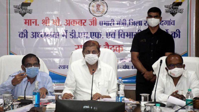 पटवारियों की मुख्यालय में उपस्थिति सुनिश्चित करें, अधिकारी: वन मंत्री मोहम्मद अकबर