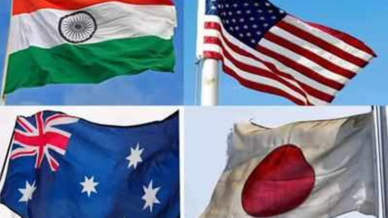 Quad नियम आधारित व्यवस्था चाहने वाले देशों का समूह है: अमेरिका