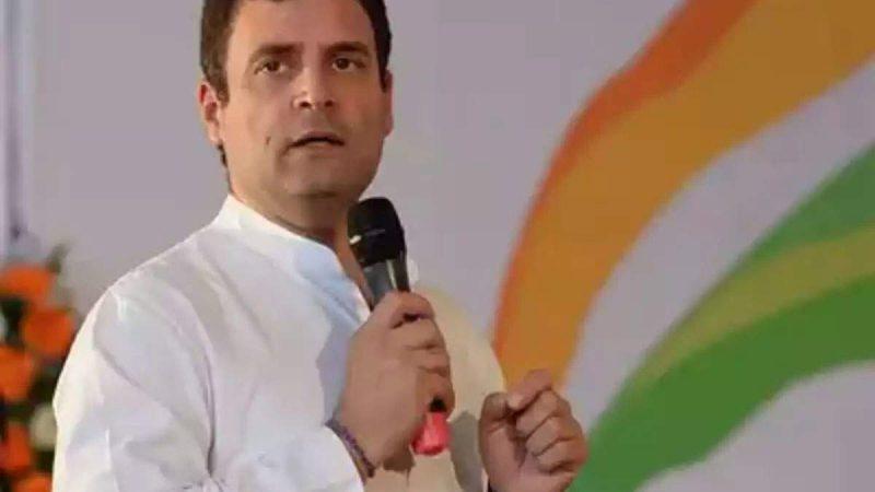 राहुल गांधी ने की अर्णब गोस्वामी चैट कांड की जांच की मांग, कहा- संवेदनशील सूचना लीक करना अपराध