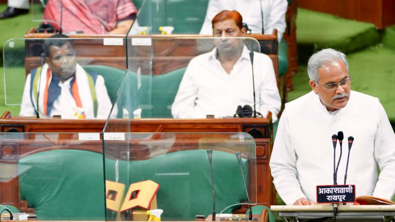 छत्तीसगढ़ को नई ऊंचाईयों पर ले जाने वाला बजट : मुख्यमंत्री भूपेश बघेल ने आज विधानसभा में वर्ष 2021-2022 का बजट पेश किया