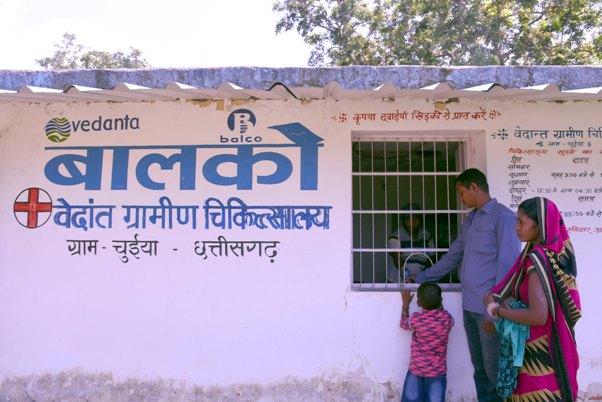 बालको की 'आरोग्य परियोजना' से 22000 जरूरतमंदों को मिली प्राथमिक स्वास्थ्य सुविधाएं