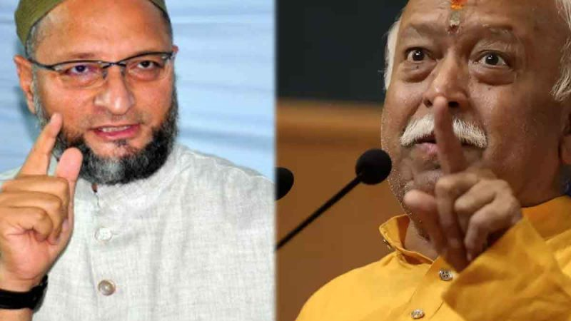 'RSS के पास दिमाग जीरो, पर मुस्लिमों से नफरत 100 परसेंट' ओवैसी का सीधा अटैक