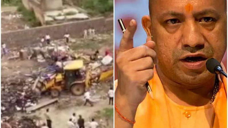 दिल्ली में चला योगी सरकार का बुलडोजर, रोहिंग्या से 97 करोड़ की जमीन खाली कराई