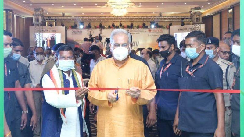 देश के निर्यात में छत्तीसगढ़ की अहम भागीदारी के लिए एयर कार्गाे की सुविधा जरूरी : मुख्यमंत्री भूपेश बघेल