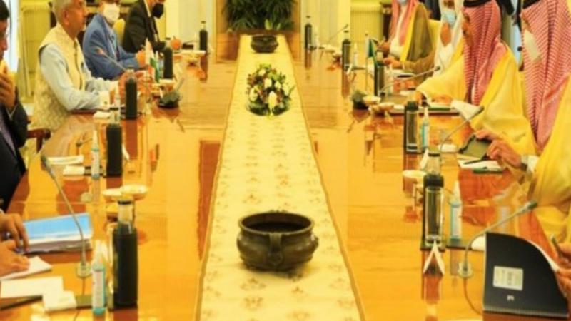 भारत दौरे पर आए सऊदी अरब के विदेश मंत्री और जयशंकर के बीच वार्ता, अफगानिस्तान समेत कई अहम मुद्दों पर चर्चा